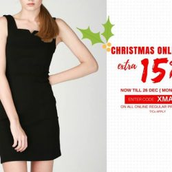 [MOSS] Christmas Sale is On!Enter code : XMAS15 To enjoy extra 15% off* on all online regular priced itemSale end