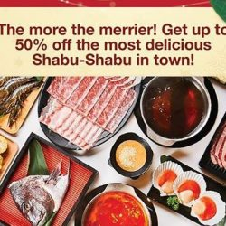 Emporium Shokuhin: Enjoy Up to 50% OFF Hokkaido Wagyu Shabu-Shabu Buffet for Members & OCBC Cardmembers