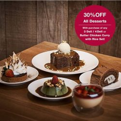 [MUJI Singapore] Intrigue your taste buds with an array of delectable dishes and desserts specially curated for the festive season! What's