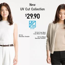 [Uniqlo Singapore] Head outdoors in stylish summer fashion that protects you from the sun. The new UV Cut Collection blocks out 90%