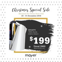[MAYER] Ho Ho Ho, Merry Christmas! It's never too late to get your loved ones a special gift!Grab the