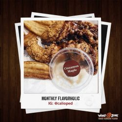 [Wing Zone Singapore] Congratulations @calioped - You're our Flavorholic™ of the month, which also means you get 5 wings of your choice, on
