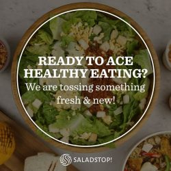 [Salad Stop] Something fresh & new is coming soon! Stay tuned for exciting rewards and much more!