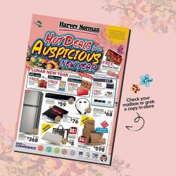 [Harvey Norman] Get a head-start on your Lunar New Year shopping at #HarveyNormanSG! Bringing you hot deals for an auspicious new