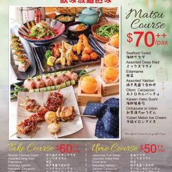 [Otaru Suisan] Choose from your favorite party course with FREE FLOW beverage included! Enjoy your year end parties at Otaru Suisan - make