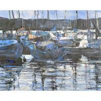 [Goshen Art Gallery] Ships and boats have been included in art from almost the earliest times, but marine art only began to become