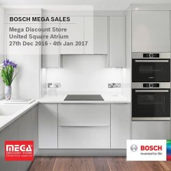 [Mega Discount Store] BOSCH MEGA SALES @ UNITED SQUARE 27th December 2016 to 4th January 2017 Do drop by!