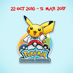 [Standard Chartered Bank] Level up your Pokémon experience at the Pokémon Research Exhibition at S.E.A. Aquarium, Resorts World Sentosa.