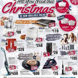 [Harvey Norman] Here's all you need this #Christmas brought to you by #Philips. Head on down to a #HarveyNormanSG store near