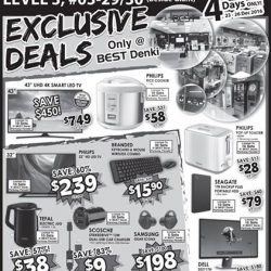 [Best Denki] Get these exclusive deals at Parkway Parade! Mophie 10,400 mAh External Battery @ $39 (UP $69) Philips Rice Cooker @ $58 (