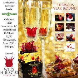 [Wild Hibiscus] Here's a wildly delicious, easy to prep holiday recipe. Use a quality triple cream brie, and top with chopped
