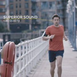[Stereo] With No Wires and No Limits, you can now experience the feeling of true freedom with Jabra Elite Sport. These