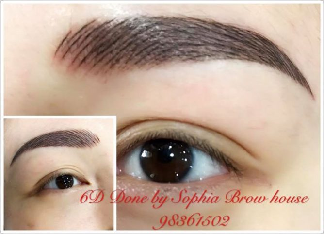 Sophia Brow House 6d Eyebrows Done By Sophia This Is A New Style