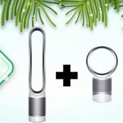 [Best Denki] Get this Christmas Deal at BEST Online Store! Dyson Bundle Deal - TP02WHITE+DP01WHITE @$1288 (UP $1798). Grab here now: https://