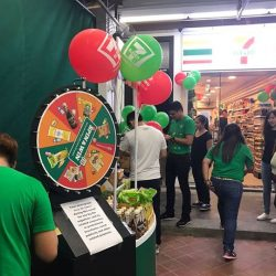 [7-Eleven Singapore] We are now live from Pagoda Street- at our Official Store Opening! We have many in-store activities planned out