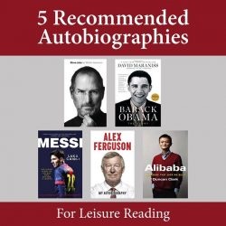 [POPULAR Bookstore] Prefer some quiet activity this Christmas weekend?  Why not read some autobiographies? Reading life stories of famous people may offer