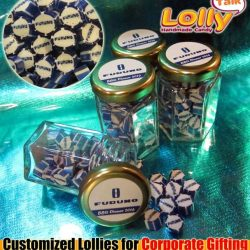 [Lolly Talk] LollyTalk's handcrafted lollies packed into the classic hexagonal bottles for various corporate cum marketing needs such as roadshow giveaways,