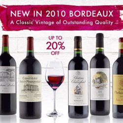 [The Oaks Cellars] SHOP NOW!Bordeaux Outstanding Vintage 2010 Enjoy Up to 20% OFF NowExclusively Online For A Limited Time Onlyhttp://