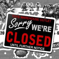 [ACTION TOYZ] Our TOYS WAREHOUSE OUTLET will be permanently closed from today onwards until the next event.It has been a good