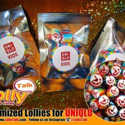 [Lolly Talk] LollyTalk's handcrafted lollies for Uniqlo; Packed into super mini packets as giveaways!! LollyTalk also provides personalised packagings for various