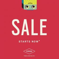 [Metro] What time is it? It's Fossil's End of Season Sale! Save big and enjoy up to 50% off*