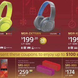 Sony: Year End Promotion Up to $100 OFF on Headphones and Speakers