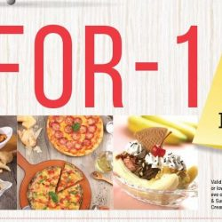 Swensen's: 1-for-1 Mains/Desserts on Weekdays Between 2.30pm to 4.30pm