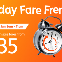 Jetstar: Friday FREE Fare Frenzy to Kuala Lumpur, Penang, Denpasar (Bali), Taipei & more from $35 One-Way All in!