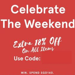 Zalora: Coupon Code for Extra 18% OFF Storewide