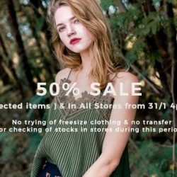 Osmose: Annual Sale with 50% OFF Selected Items Online and Storewide at All Outlets!