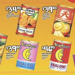 Abalone Promotions at NTUC FairPrice, Giant, Cold Storage, Cheers & More!