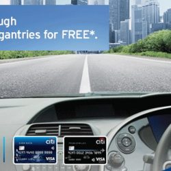 Citibank: Drive Through 10 ERP Gantries for FREE Using EZ-Pay with Citi Credit Cards!