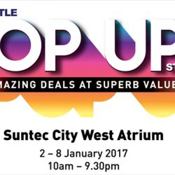 John Little: Pop Up Store at Suntec City