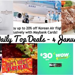 BQ's Daily Top Deals: Starbucks NEW Drinks + CNY & Vday Collection, FREE Beats Solo3 Headphones with Apple Purchases, Jack's Place $9.90++ Set Lunch, Korean Air Up to 20% OFF with Maybank Cards & More!