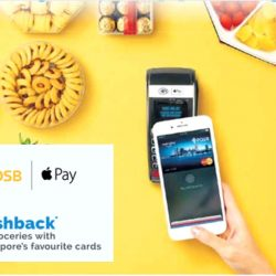 Apple Pay: $8 Cashback on Groceries with DBS/POSB Mastercard Cards at Major Supermarkets