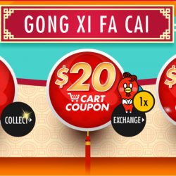 Qoo10: Up to $50 Cart Coupons Up for Grabs & CNY Early Bird Sale!