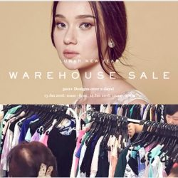 Love & Bravery: Lunar New Year Warehouse Sale with Prices from $10!
