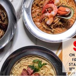 49 Seats: $4.90 Nett Pastas for the First 49 Orders!