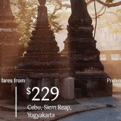 SilkAir: Exclusive American Express 2-To-Go Return Fares from $189 to Langkawi, Penang, Phuket, Cebu & More