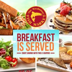 The Manhattan FISH MARKET: Save with E-Coupons on Weekend Breakfast