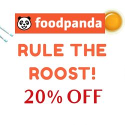 foodpanda: Coupon Code for 20% OFF All Chinese Cuisine!