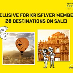 KrisFlyer: Exclusive 25% Discount on Scoot and Tigerair!