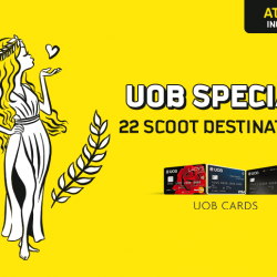 FlyScoot: Exclusive UOB Promo Code for 20% OFF 22 Scoot Destinations including Athens!