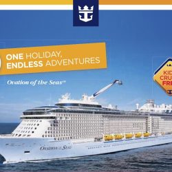Royal Caribbean: Up to 50% OFF Balcony Staterooms on Ovation of the Seas!
