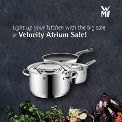 [WMF] Enter the new year, shiny and chrome, with the Velocity Atrium Sale from 6 – 15 Jan!Best buy: Gala plus