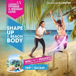 [Celebrity Fitness Singapore] Are you ready for your Best Body Shape?Shape Up A Beach Body!!!!Join the contest. Best and fittest Body