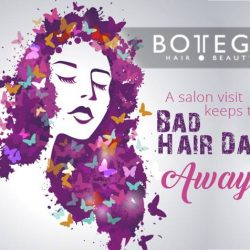 [BOTTEGA hair & beauty ] We all have a bad hair day, but it doesn't mean we have to stay indoors all day when