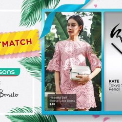 [Watsons Singapore] Show us your BEST MATCH & WIN Love, Bonito vouchers! :D It's time to put all your rich fashion and