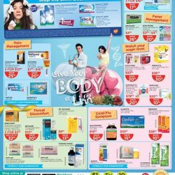 [Watsons Singapore] Enjoy amazing deals across participating brands like Eu Yan Sang, Redoxon and more! On top of that, get 3% CASH