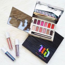 [Urban Decay Cosmetics Singapore] Our Full Spectrum and Blackmail Lip Palette's got you covered. // 📷: @sheidafashionista Get them both for $88 at any of